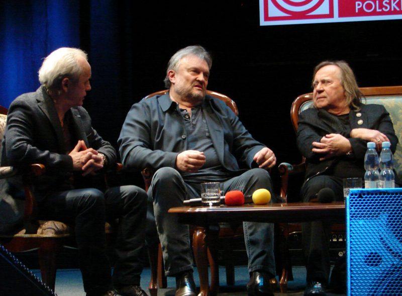 Tomasz Zeliszewski, Krzysztof Cugowski i Romuald Lipko