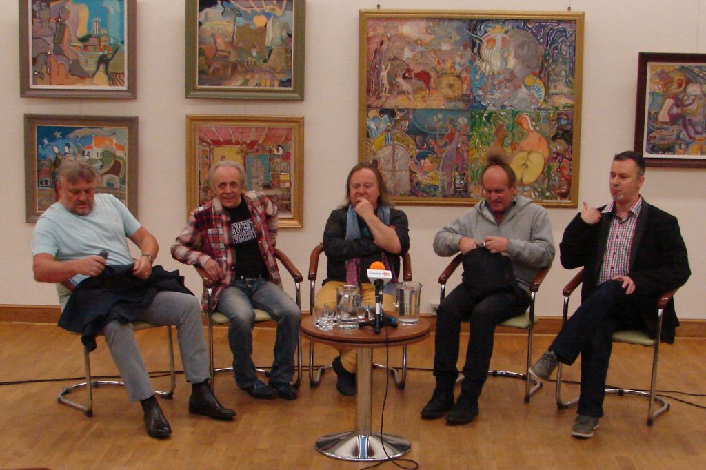 Krzysztof Cugowski, Tomasz Zeliszewski, Romuald Lipko, Mieczysław Jurecki, Jarosław Sawic