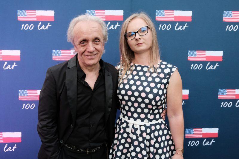 Tomasz Zeliszewski z córką Pauliną